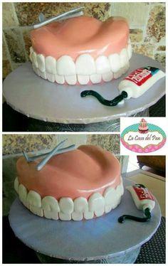 Dentist Cake. Follow Phan Dental Today!  https://www.facebook.com/phandentalyeg https://twitter.com/PhanDental