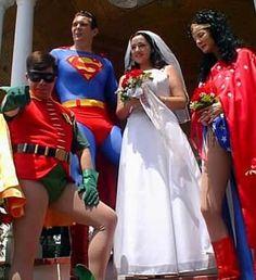Super wedding with Robin
