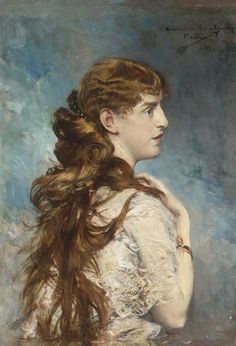 Giovanni Boldini - Portrait of Harriet Valentine Crocker Alexander (1887)