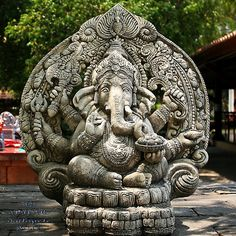 Ganesh Himal Museum by ol'pete, via Flickr Ganesha Pictures, Ganesh Images, Indian Temple Architecture, Ganesh Lord, Ganesh Idol, Ganesh Wallpaper, Buddha, Shree Ganesh, Religious Tattoos
