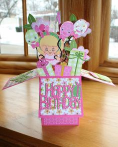 Card Creations by Caroline: Birthday Box Card