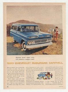 Nice ride! Chevrolet Suburban Carryall