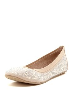 Crystal Ballet Flat... just bought these in black... love target!