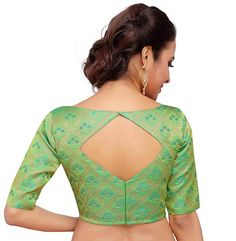 New Saree Blouse Designs, Blouse Designs High Neck, Simple Blouse Designs, Stylish Blouse Design, Designs For Dresses, Wedding Wear, Durga Puja, Party Wear, Confirmation