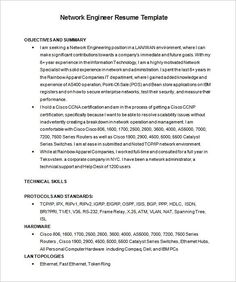 Resume Samples For Network Engineer Resume Examples The Muse  Pinterest  Resume Examples