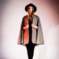 Tweed Sherlock cape.  Winter2012 - Collections - Liber Hverfisgötu 50 101