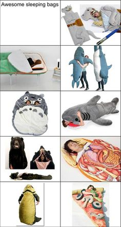 Awesome Sleeping Bags Ever