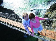 Carrick A Rede rope bridge, Causeway Coast, Northern Ireland