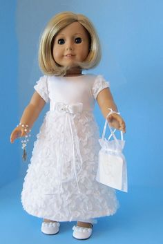 American Girl Doll: First Communion Angel by SewSpecialByBarb