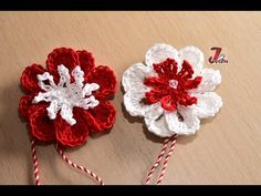 Crochet Keychain, Crochet Earrings, Spring Crafts, Holiday Crafts, Baba Marta, Easy Crafts, Diy And Crafts, Projects To Try, Crochet Patterns