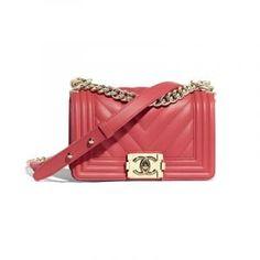 064e354df7ca Chanel Spring, Chanel Handbags, Small Boy, Baggage, Chanel Boy Bag, Shoulder
