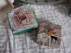 Geschenkshachtel Teelicht Box Untersetzer von Plan B auf DaWanda.com