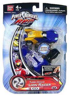 Power Rangers RPM Turbo Octane Zord Blue Lion Racer by Bandai,