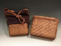 Japanese basket -kago bag with 巾着, Love this <3 ~lisa