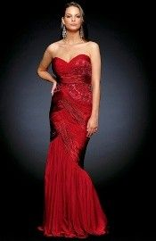 Romantic Draped Floor Length Trumpet Sleeveless Backless Prom Dress-0 Best Prom Dresses, Backless Prom Dresses, Strapless Dress Formal, Formal Dresses, Affordable Evening Gowns, Trumpet, Purse, Floor, Romantic