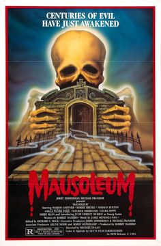 Mausoleum posters for sale online. Buy Mausoleum movie posters from Movie Poster Shop. We're your movie poster source for new releases and vintage movie posters. Horror Movie Posters, Horror Films, Arte Horror, Horror Art, Horror Decor, Michael Franzese, Vintage Horror, Creature Feature, Scary Movies