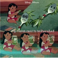 Lilo and Stitch my favorite part lol