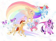 My Little Pony List, My Little Pony Princess, My Little Pony Pictures, Mlp My Little Pony, My Little Pony Friendship, Dessin My Little Pony, My Little Pony Cartoon, My Little Pony Characters, My Little Pony Drawing