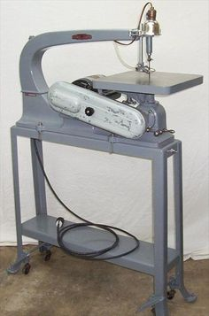 Photo Index - Delta Manufacturing Co. - 24 Scroll Saw, Variable Speed | VintageMachinery.org