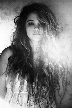 It's wild stringy hair like mine!