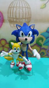 topo de bolo do sonic Bolo Sonic, Smurfs, Fictional Characters, Art, Decorating Cakes, Kids Part, Art Background, Kunst, Performing Arts