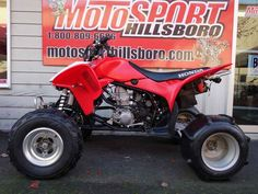 Used 2014 Honda TRX 450R (Elec Start) ATVs For Sale in Oregon. 2014 Honda TRX 450R (Elec Start), 2014 Honda® TRX®450R (Elec Start) Performance That s Been Proven Time And Again. Availability: September, 2013. If you re looking for a sport ATV with a serious racing pedigree, then you ve found it: the TRX®450R. Winner of multiple Baja 1000s, the TRX®450R offers up an ideal mix of performance, handling and power, thanks to a MX-inspired Unicam® liquid-cooled four stroke engine. Pro-Link®…