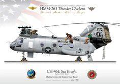 USMC CH46 HMM-263