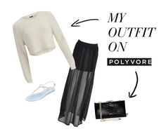 """black and white"" by abidois on Polyvore"