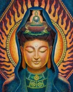 Kuan Yin's Flame by by Sue Halstenberg 🕉WILD WOMAN SISTERHOOD🕉 #WildWomanSisterhood #kuanyin #motheroftheuniverse #shewhohearsthecriesoftheworld