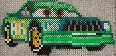 Chick Hicks Cars - hama perler beads