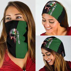 Irish Skull Bandana Shield B1142 Happy Patrick Day, Love Shirt, Bandana Print, Irish Men, Zip Hoodie, Skull, Bandanas, Unisex, Amazing