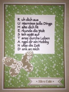 Pension - birthday ideas Rente Rente The post Rente appeared first on Birthday ideen. Diy Invitations, Invitation Cards, Diy And Crafts, Crafts For Kids, Craft Images, Retirement Cards, Retirement Sayings, Memory Books, Stamping Up
