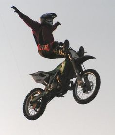 Extreme Sports - Motorcycle.  Go to www.YourTravelVideos.com or just click on photo for home videos and much more on sites like this.