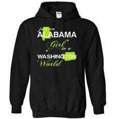 (ALJustXanhChuoi001) Just An Alabama Girl In A Washingt - #gifts #gift table. FASTER:   => https://www.sunfrog.com/Valentines/-28ALJustXanhChuoi001-29-Just-An-Alabama-Girl-In-A-Washington-World-Black-Hoodie.html?id=60505