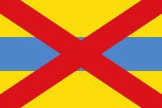 Flag of Grimbergen, Belgium