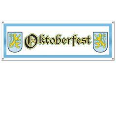 Mega Partybanner Oktoberfest