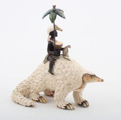 Ardmore Ceramics Pangoline Rider AAA