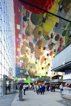 Markthal Rotterdam ••• MVRDV