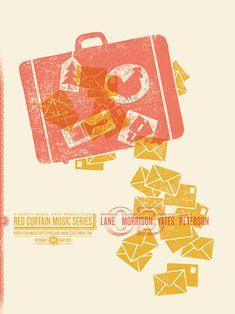 Dan Judge se dedica a crear estos coloridos posters de formas simples y sintéticas, granuladas texturas y geniales composiciones que el mismo se encarga de imprimir en serigrafía desde su estudio en Filadelfia. Su trabajo