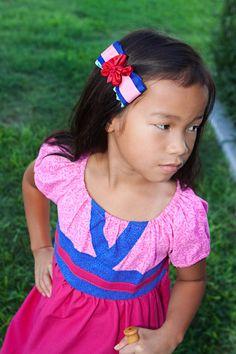 Mulan Disney Inspired Princess Dress by ChameleonGirls on Etsy