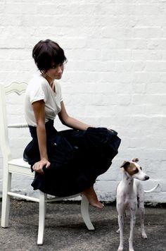 Dog + skirt + short hair = RADDDD