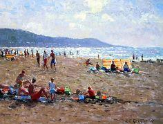 Imagem relacionada Summer Art, Dolores Park, Landscape, Inspiring Art, Travel, Painting, Artists, Viajes, Scenery