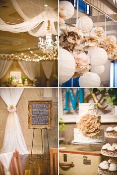 Our Story Inspired Wedding Vintage & Rustic