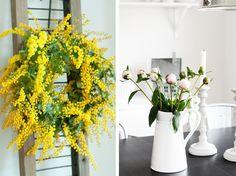 Wiosenne kwiaty w domu