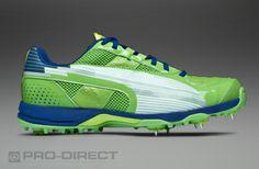 Puma evoSpeed Cricket Spike - Mens Shoes - Jasmin Green-White-Monaco Blue 775812b6d