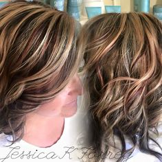 Fall hair color by Jessica K Forrey