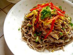 Cold Noodles in Sesame Sauce