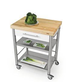 SoBuy Servierwagen aus hochwertigem Bambus,Küchenwagen,Küchenregal ...   {Küchenwagen schmal 64}