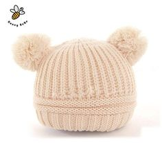 2e57853b423 Choice of Ball Ears Knitted Baby Hat Knitted Beanies