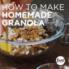 Making granola at home is not only easy, it makes for a great gift! Watch and learn.